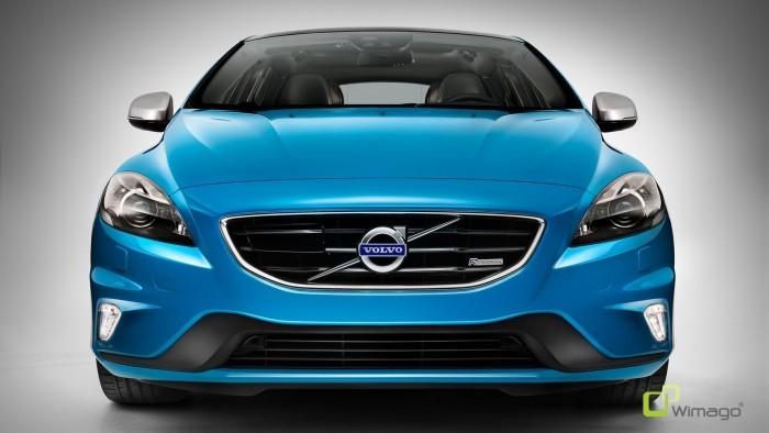 Volvo V40 Rebell Blue R-Design